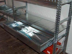 Metalsistem legbordstellingen van hoogwaardig staal